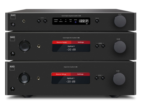 Full-Featured Integrated Amps from NAD