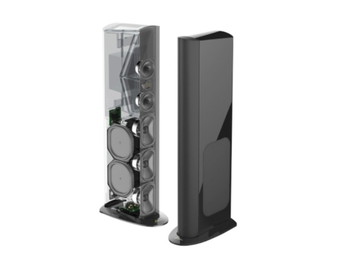 GoldenEar's Sandy Gross Demonstrates New Triton Reference Speakers