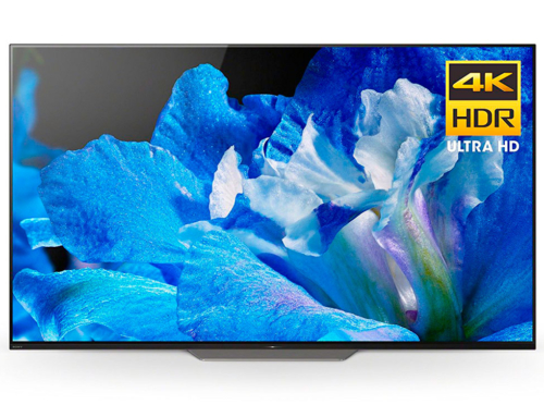 Sony A8F HDR UHD Smart OLED TV Now on Display