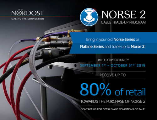 Nordost Cable Trade-Up Program